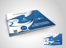 Corporate Business Brochure Stock Photography