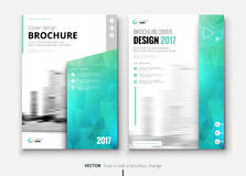 Corporate business brochure or flyer design. Leaflet presentation. Royalty Free Stock Photo