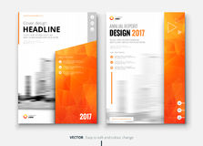 Corporate business brochure or flyer design. Leaflet presentation. Corporate business annual report cover, brochure or flyer design. Leaflet presentation Royalty Free Stock Photos