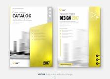 Corporate business brochure or flyer design. Leaflet presentation. Royalty Free Stock Photos