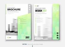 Corporate business brochure or flyer design. Leaflet presentation. Royalty Free Stock Image