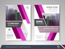 Corporate business brochure Stock Images