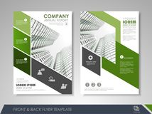 Corporate and business brochure templates Royalty Free Stock Images