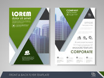 Corporate and business brochure templates Royalty Free Stock Image
