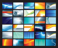 Corporate Business Card Set 2 Stock Photography