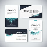 Corporate business card template. Business card design. vector. Stock Royalty Free Stock Photo