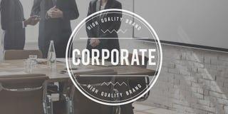 Corporate Business Enterprise Organization Concept Stock Photos