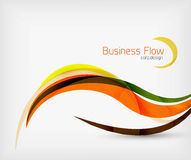 Corporate business flowing lines Royalty Free Stock Image