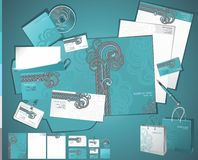 Corporate business layout Royalty Free Stock Images