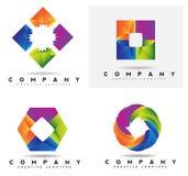 Corporate business logo Stock Photos