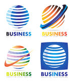 Corporate business logo Royalty Free Stock Image