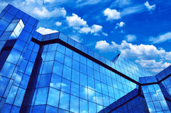 Corporate business office building Stock Photos
