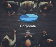 Corporate Business Office Place of Work Concept Stock Photography