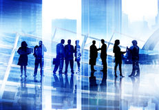 Corporate Business People Team Discussion Working Concept Royalty Free Stock Photography