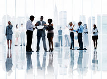 Corporate Business Team Connection Discussion Working Concept Royalty Free Stock Photo