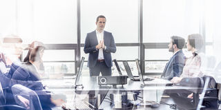 Corporate business team office meeting. Stock Images
