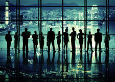 Corporate Business Teamwork Togetherness Inspiration Concept Royalty Free Stock Photography