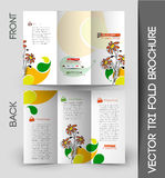 Corporate Business Tri-Fold Brochure Royalty Free Stock Photos
