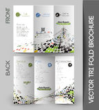 Corporate Business Tri-Fold Brochure Royalty Free Stock Photography