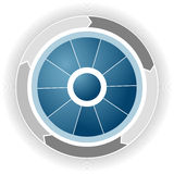 Corporate Business Wheel Royalty Free Stock Photo