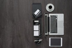 Corporate business workspace Royalty Free Stock Photography