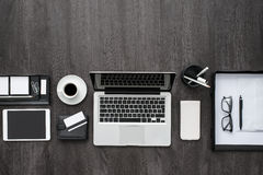 Corporate business workspace Stock Images