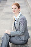 Corporate Businesswoman in a City Royalty Free Stock Photography