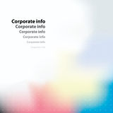 Corporate card. Vector. Royalty Free Stock Photo