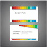 Corporate cards set. Royalty Free Stock Photography