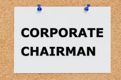 Corporate Chairman concept Stock Images