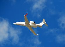 Corporate charter jet Royalty Free Stock Photo