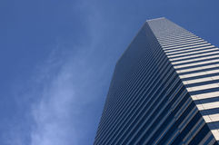 Corporate Cityscape. Abstract of the business urban landscape featuring part of a modern office building stock photos