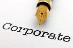 Corporate concept Stock Photo