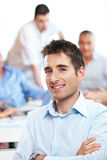 Corporate Confidence Royalty Free Stock Images