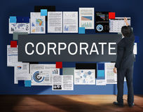 Corporate Corporation Management Business Concept stock images