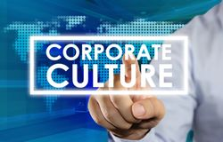 Corporate Culture, Motivational Business Words Quotes Concept. Corporate Culture, Motivational Business Inspirational Words Quotes Concept words lettering stock image