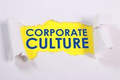 Corporate Culture, Motivational Business Words Quotes Concept royalty free stock photography