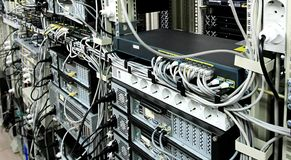 Corporate Data Center Stock Photography