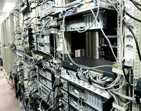 Corporate Data Center royalty free stock image
