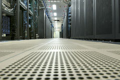 Corporate Data Center Stock Image