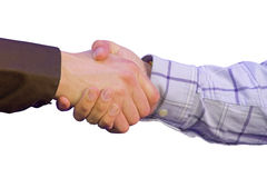 Corporate deal - isolated Stock Photo