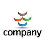 Corporate design element Stock Images