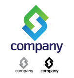Corporate design element. A very modern, fresh and trendy design element for your company, fully editable Royalty Free Stock Images