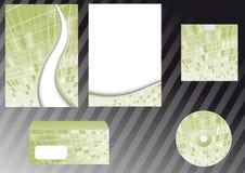 Corporate design elements templates. Clip-art Stock Illustration