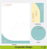 Corporate design pack Stock Photo
