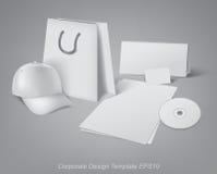 Corporate design template Stock Image