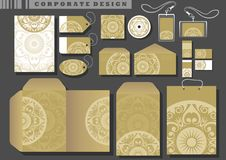 Corporate design, templates Royalty Free Stock Image