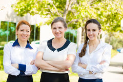 Corporate Employees Royalty Free Stock Photos