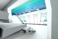 Corporate entrance hall Stock Images