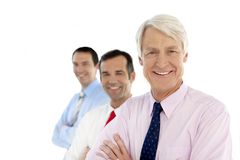 Corporate executives business team stock photography